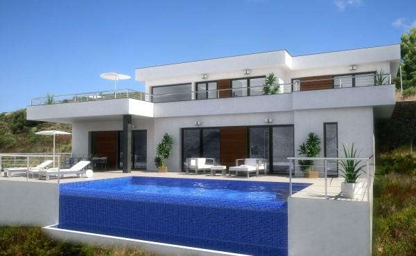 Bouw uw eigen droomvilla met spanje specials in 2016 - Huis design met zwembad ...