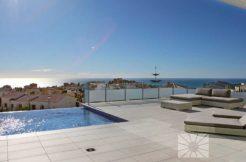 moderne zeezicht villa Costa Blanca Spanje