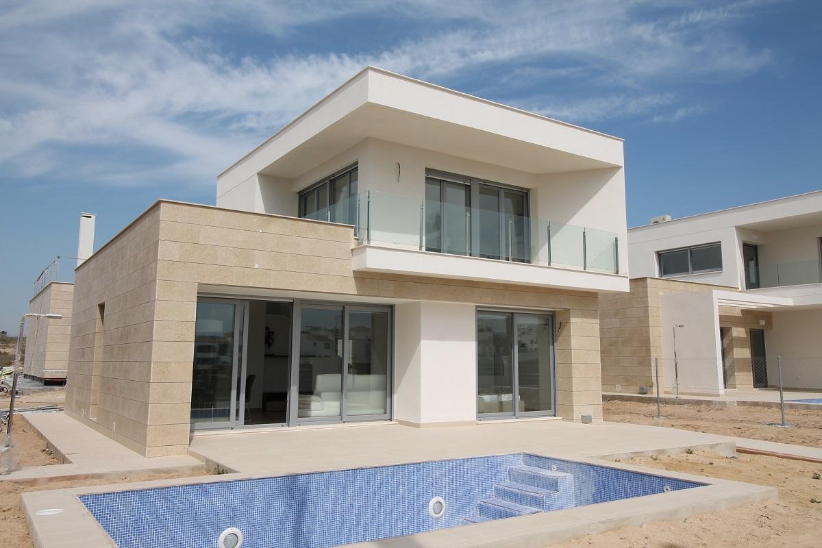Moderne nieuwbouw villa s costa blanca zuid spanje specials for Huizen tekenen