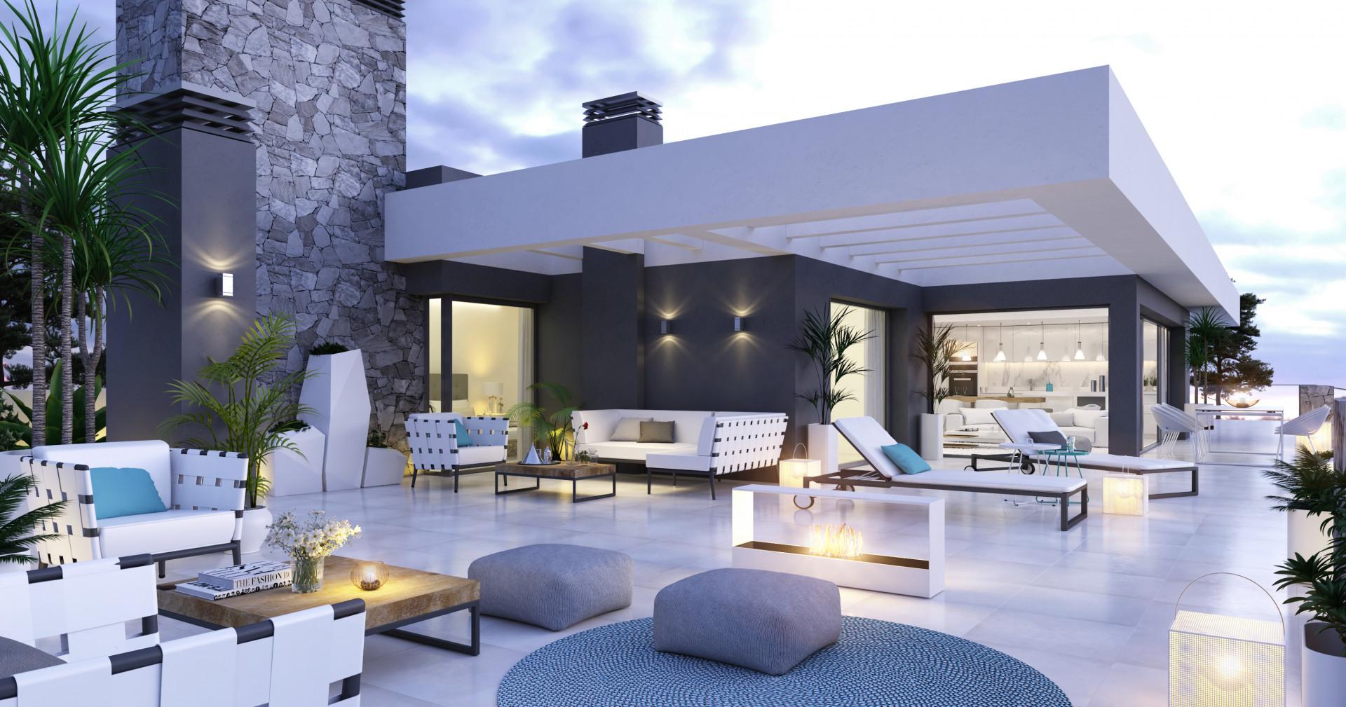 Moderne appartementen te koop op de New Golden Mile