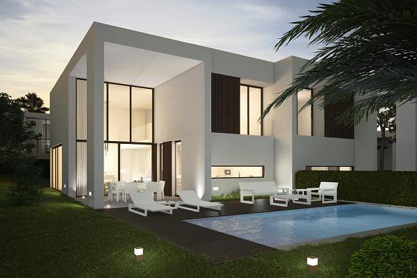 Moderne luxe nieuwbouw villa s kopen costa blanca spanje - Villa de luxe minorque esteve estudio ...