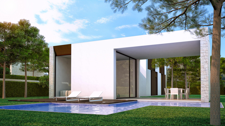 Moderne villa s te koop vlakbij strand moraira costa for Te koop moderne woning