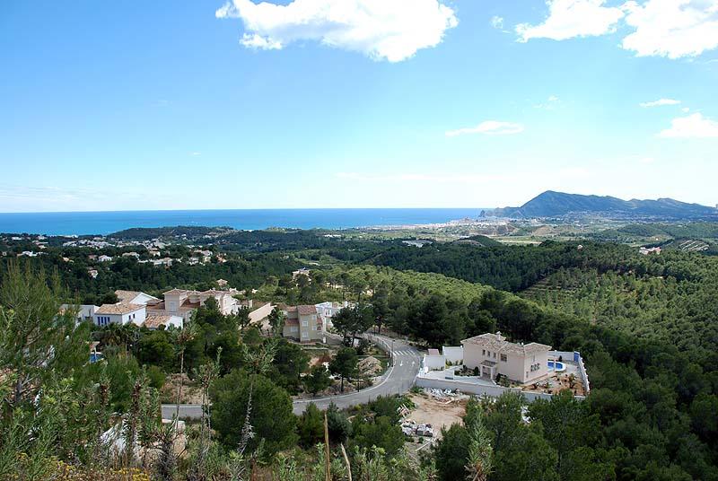 Altea Monterico grondstuk met zeezicht