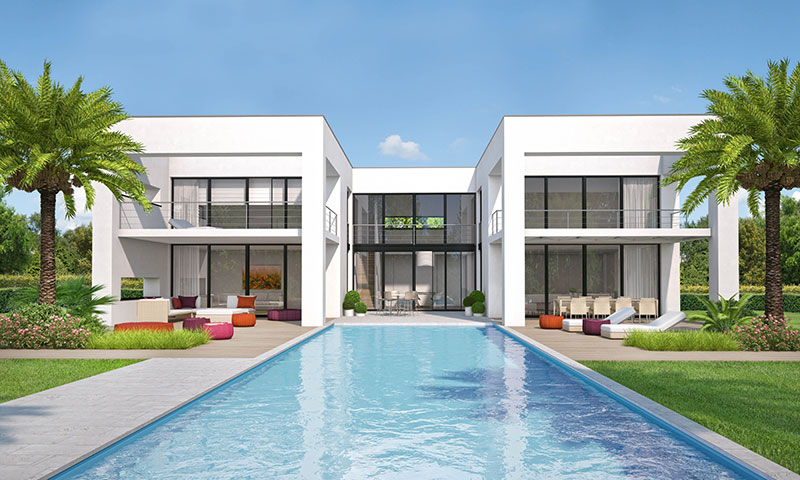 moderne luxe nieuwbouw zeezicht villa marbella spanje