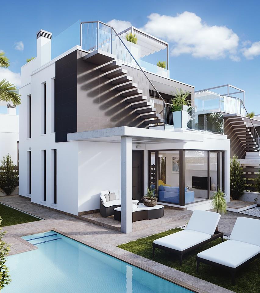 Moderne huizen te koop orihuela costa spanje spanje specials - Moderne uitbreiding huis ...