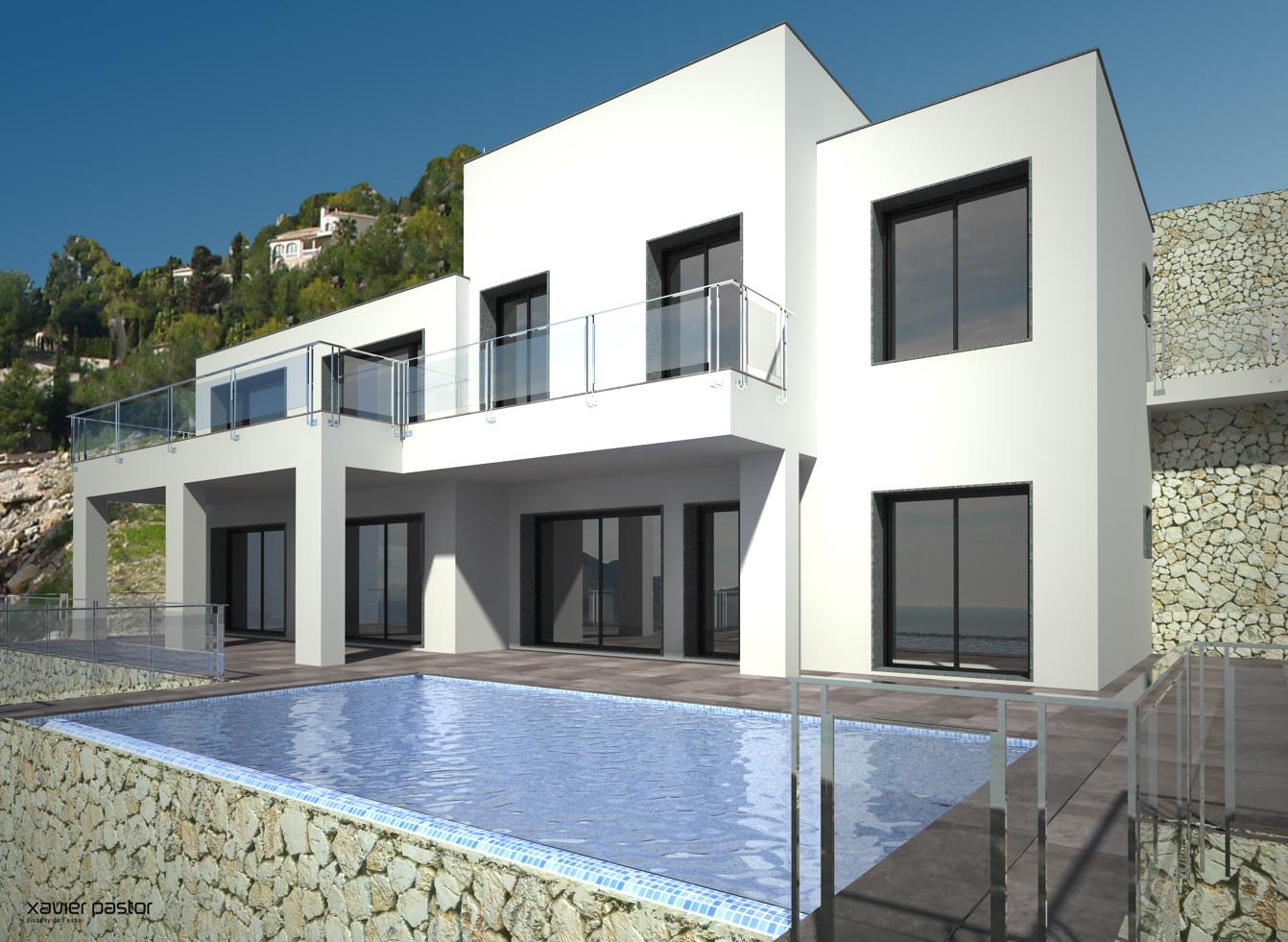 Luxe villa met zeezicht in benissa costa blanca   spanje specials