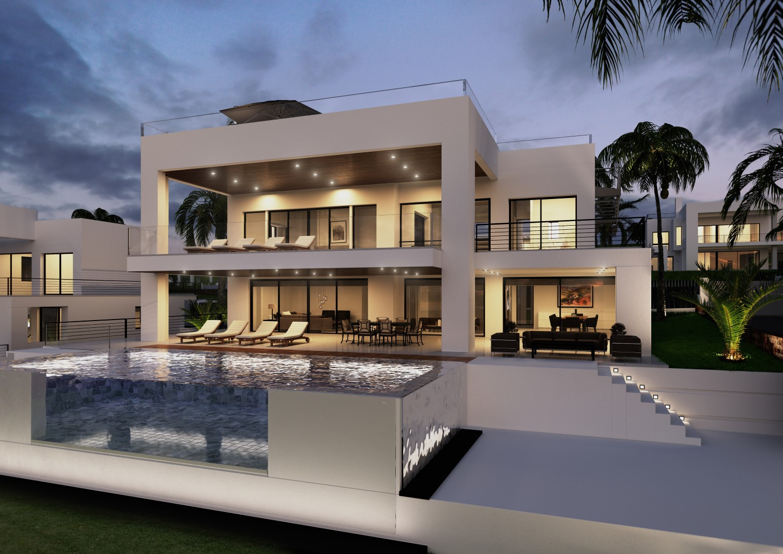 Villa de luxe visite privee maison design Villa de luxe design