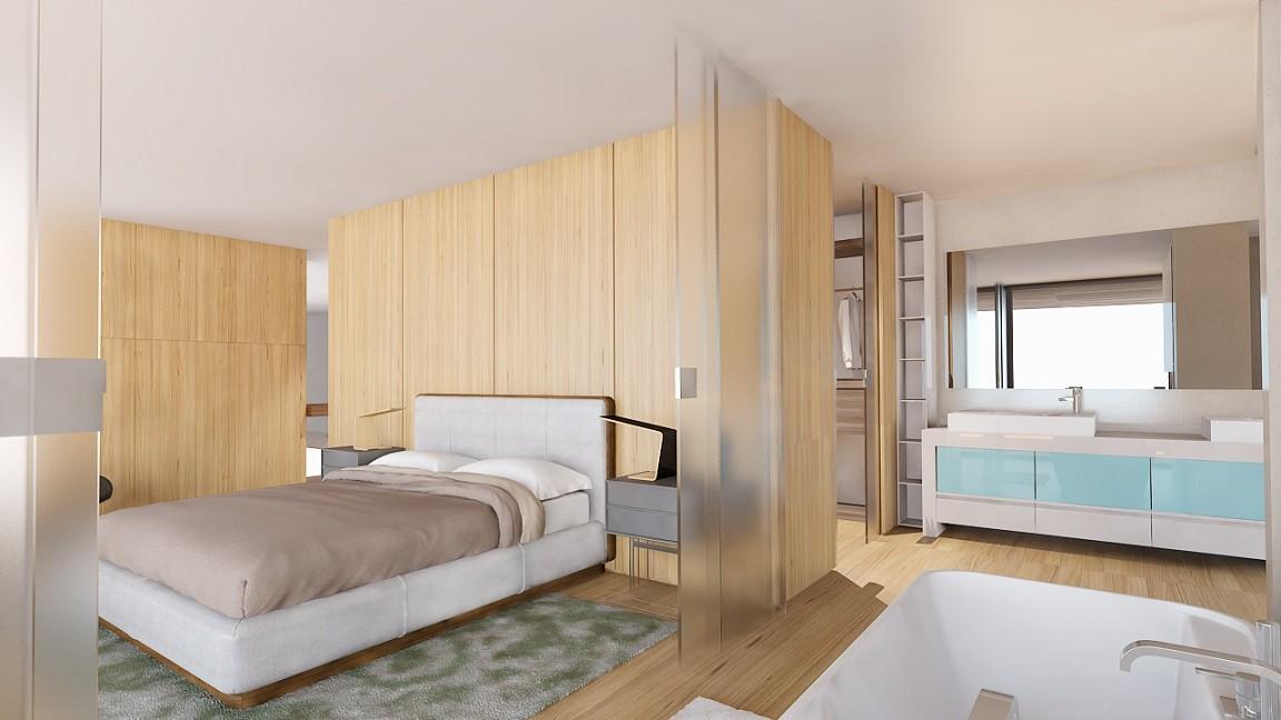 Moderne luxe nieuwbouw villa te koop nueva andalucia spanje specials - Moderne slaapkamer met kleedkamer ...
