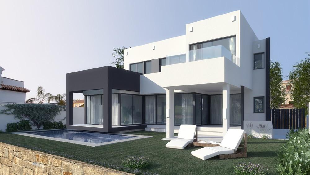 Moderne villa s in golfresort cala de mijas costa del sol - Materiales de construccion para fachadas ...