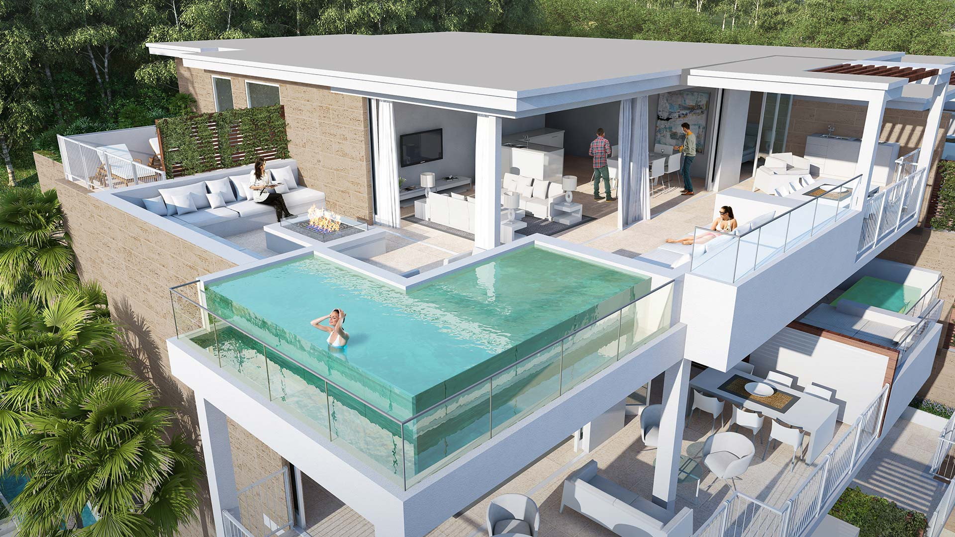 Moderne zeezicht appartementen cala de mijas te koop - Casa home malaga ...