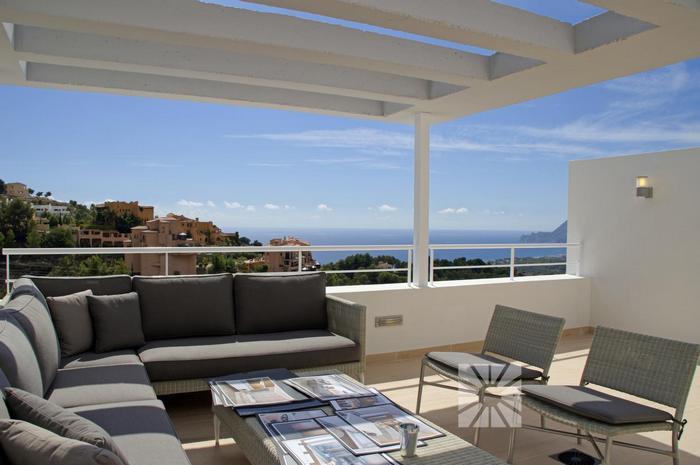 Moderne luxe villa`s te koop met zeezicht altea spanje specials