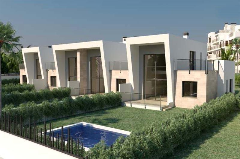 Duplex woningen te koop orihuela costa blanca spanje for Verplaatsbare woning te koop