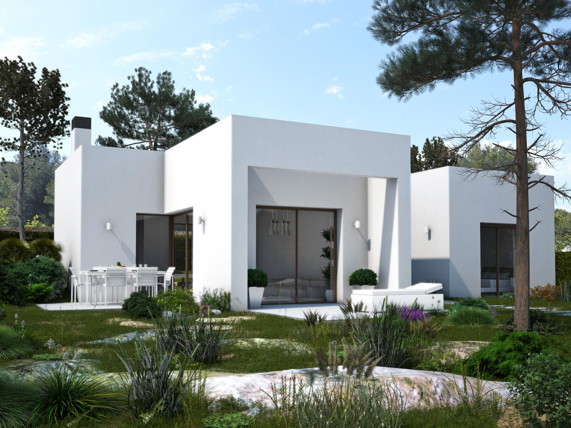 Moderne luxe nieuwe golf villa costa blanca spanje specials for Villa de luxe moderne