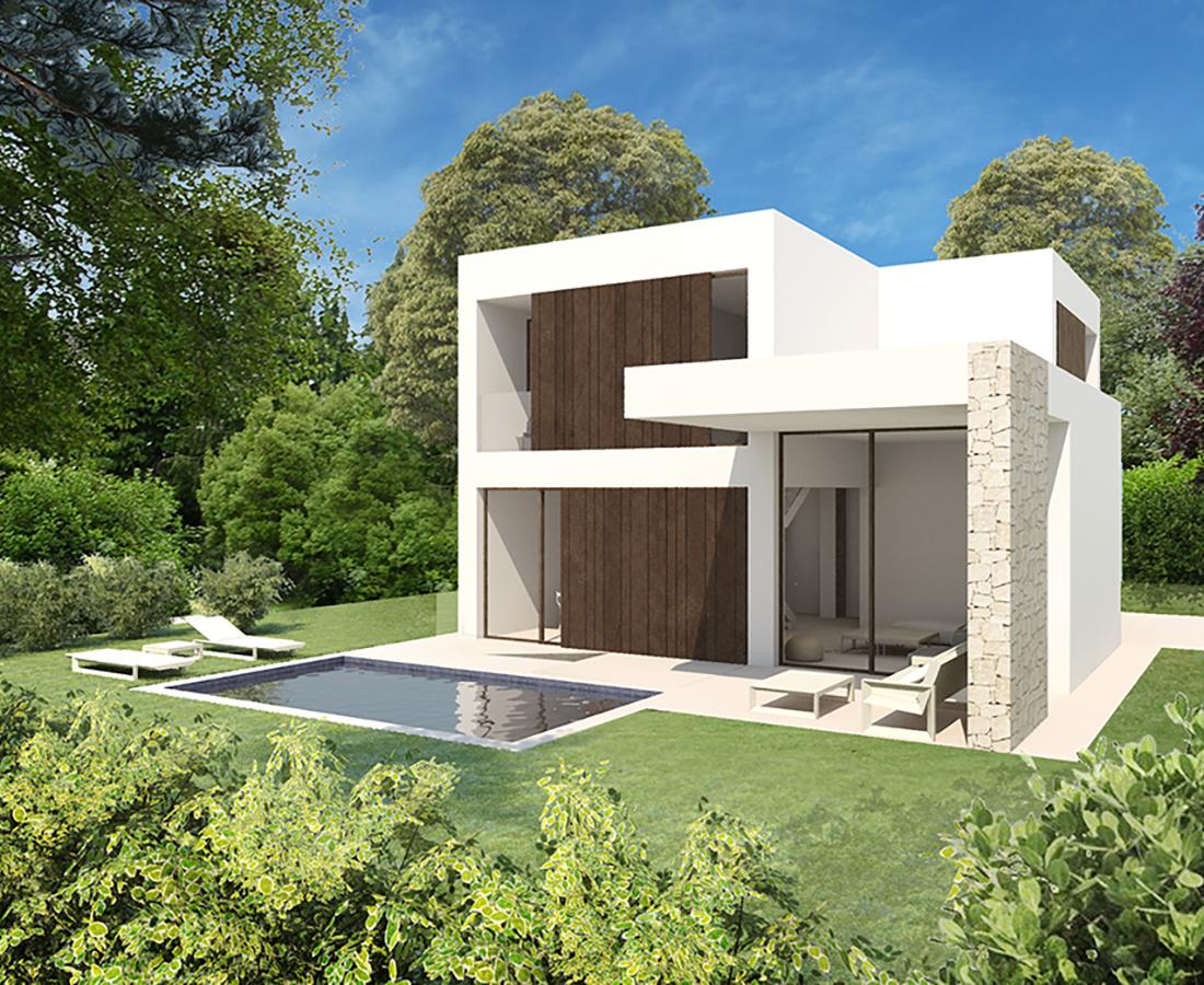 Moderne nieuwbouw villa 39 s in denia costa blanca spanje for Moderne villen