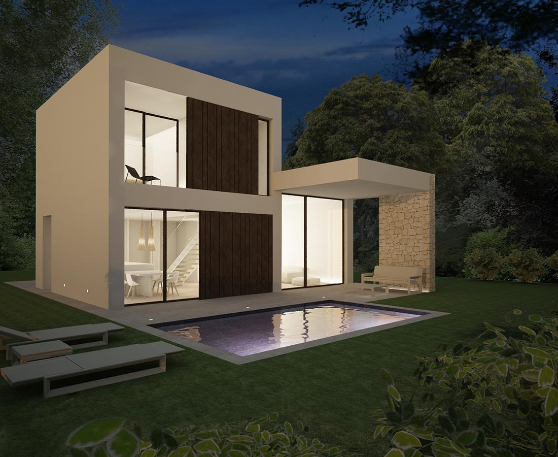 Moderne nieuwbouw villa 39 s in denia costa blanca spanje specials - Casas en subasta ...