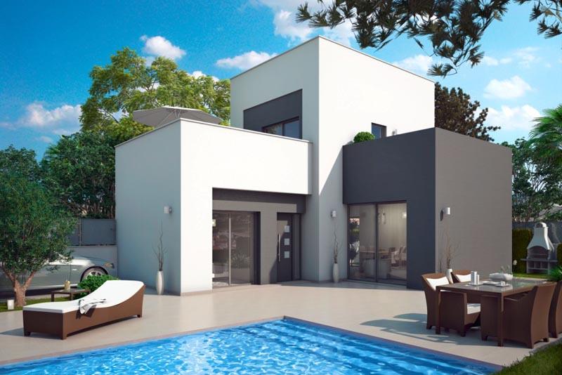 Moderne villa te koop rojales costa blanca spanje spanje for Villa moderne 2016