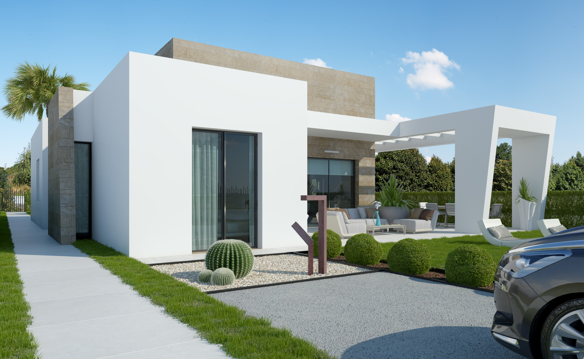 Moderne Villa Op Golfresort Algorfa Te Koop