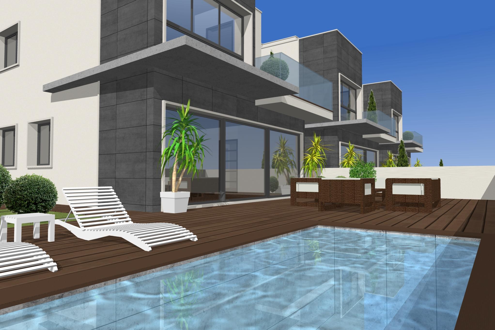 Moderne villa met zwembad te koop costa calida spanje for Villas modernes photos