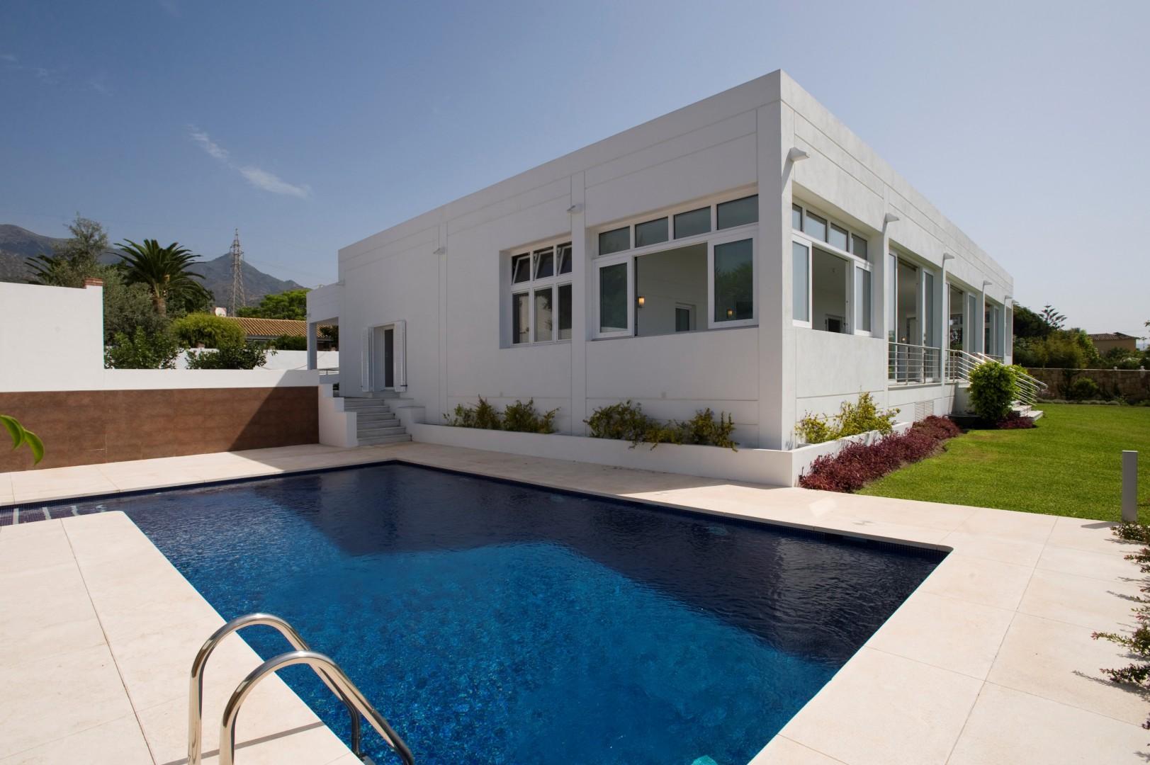 Moderne villa Marbella centrum te koop