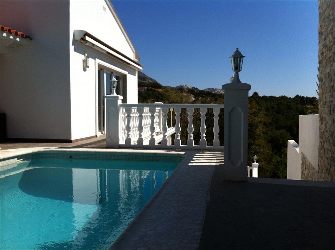 Villa met zeezicht te koop Altea Costa Blanca - Spanje Specials