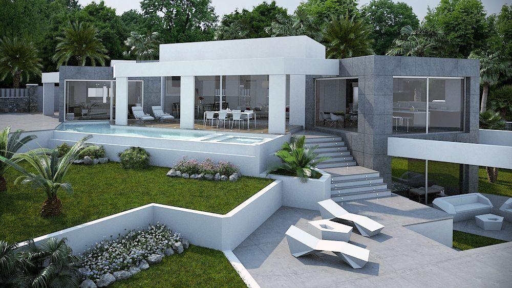 Moderne luxe villa te koop javea costa blanca spanje for Te koop moderne woning