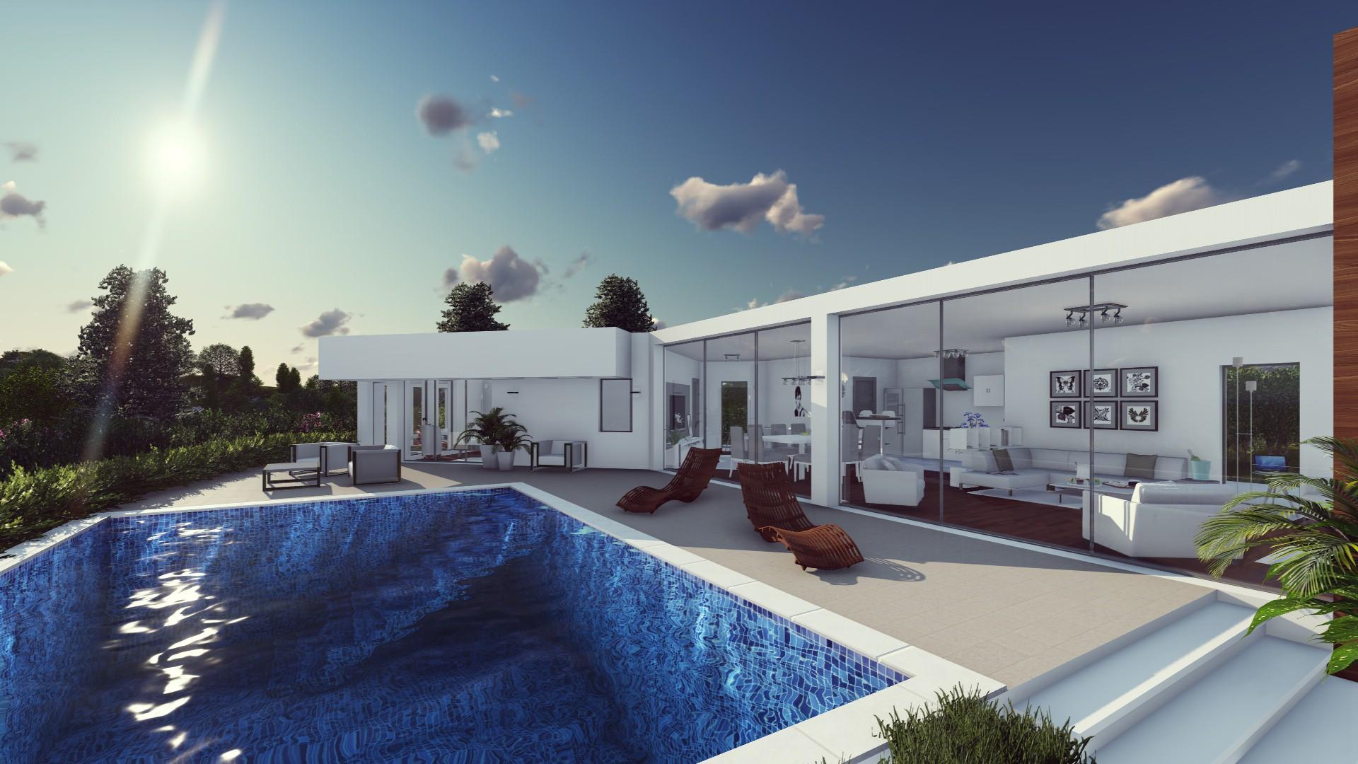 Moderne Luxe Villa Op Groot Perceel Costa Del Sol
