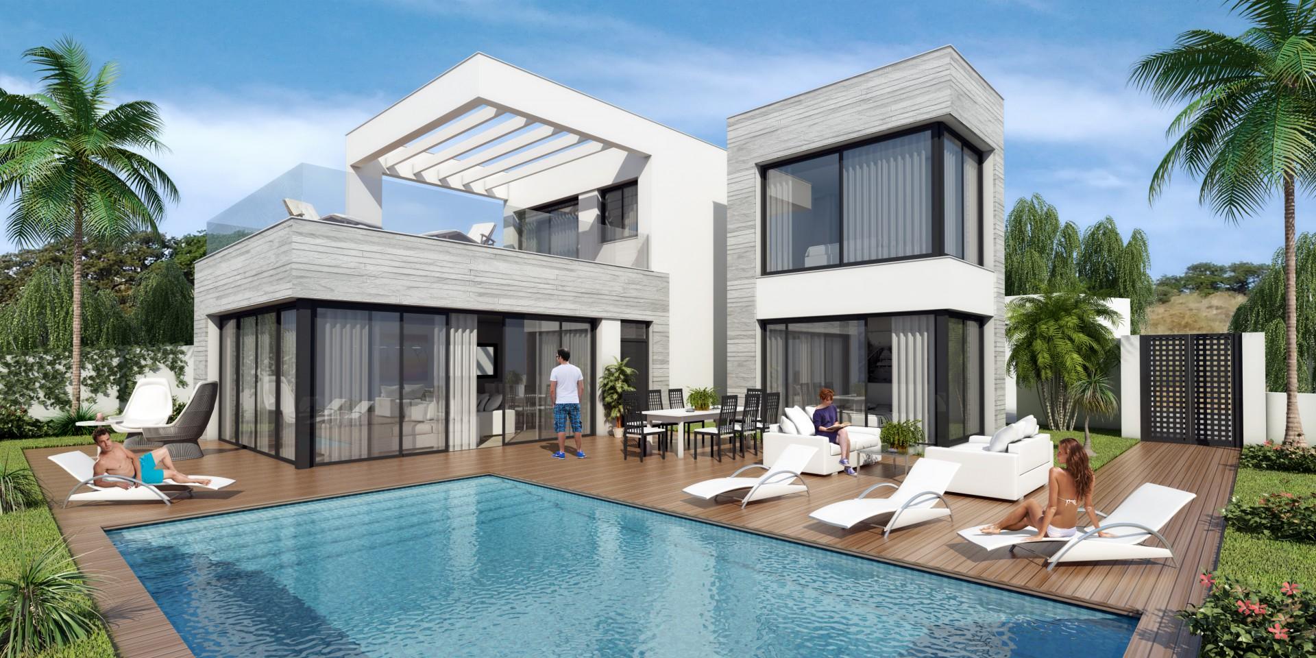 Moderne luxe villa 39 s te koop costa del sol spanje specials for Model villa moderne
