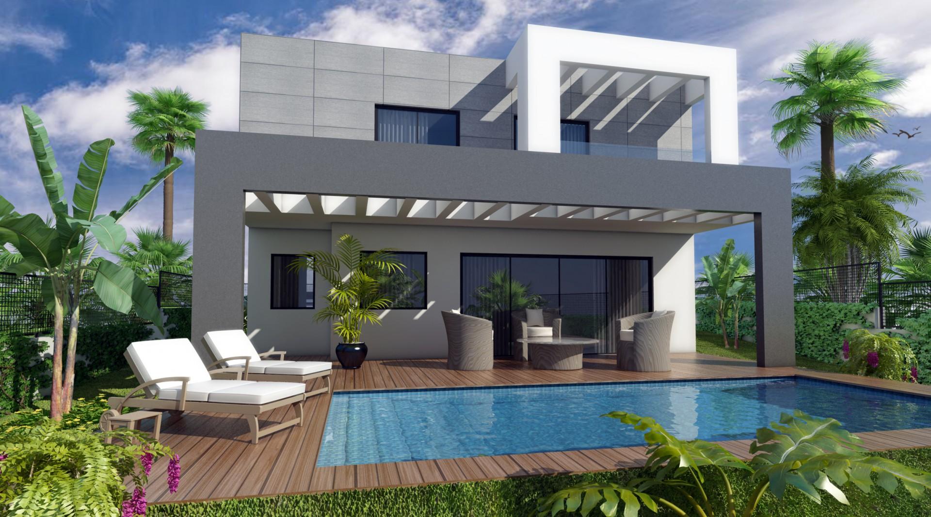Moderne villa's in Mijas Costa del Sol te koop