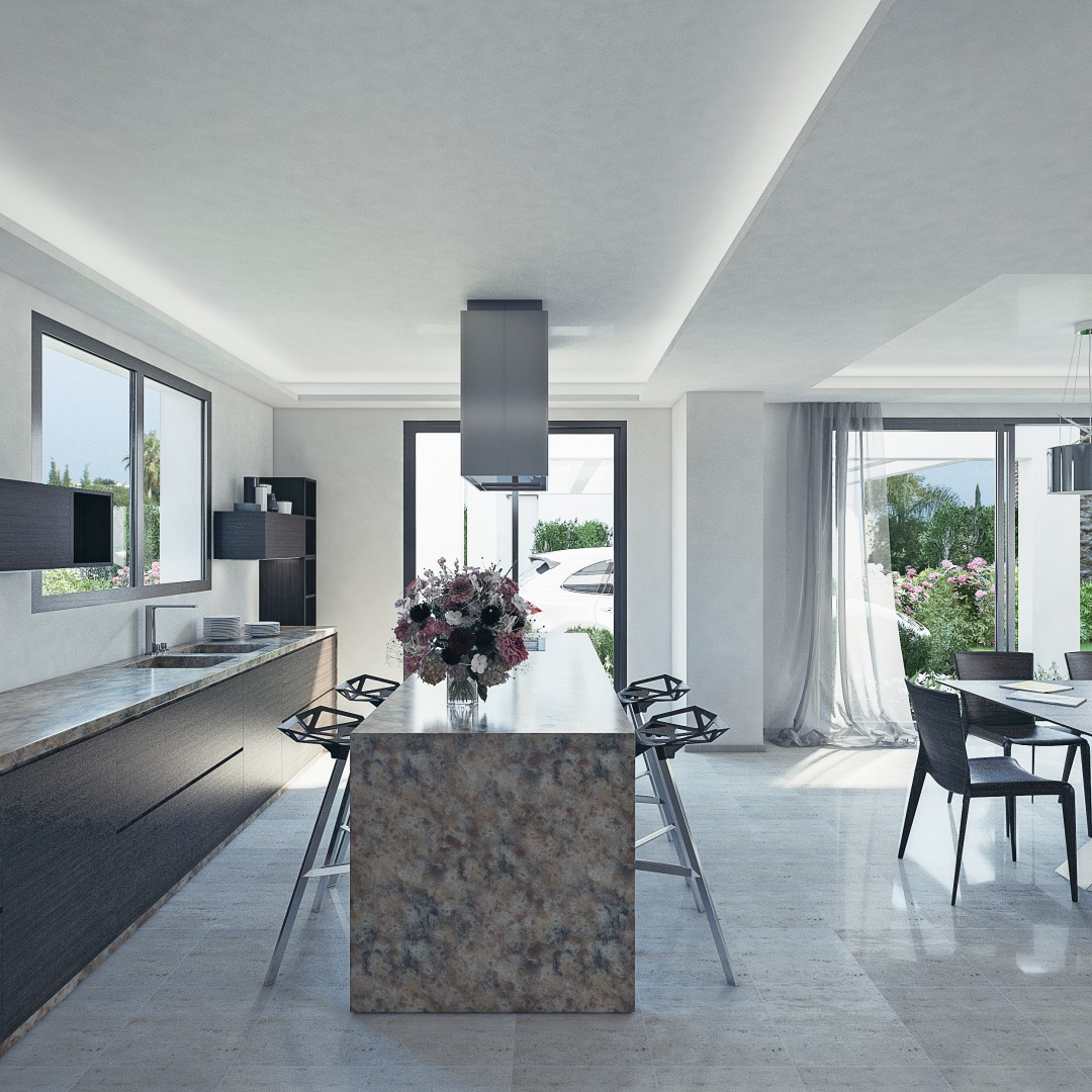 Moderne luxe villa 39 s marbella estepona spanje specials for Moderne luxe villa