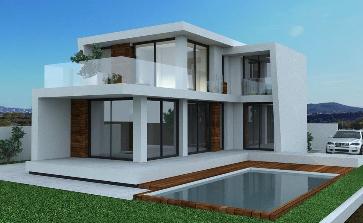 Moderne zeezicht villa's Finestrat Costa Blanca - Spanje ...