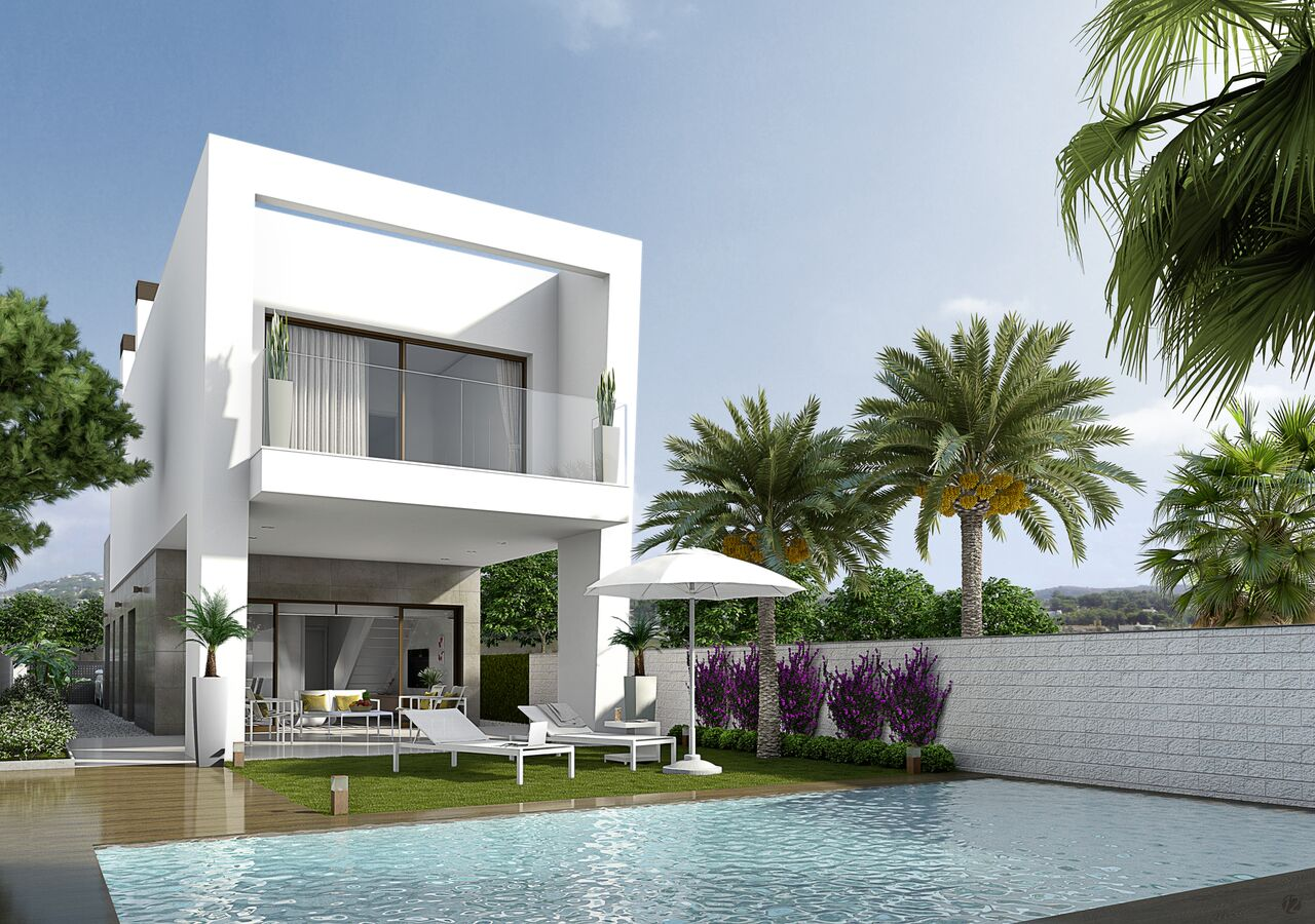 Moderne villa's Costa Blanca Zuid