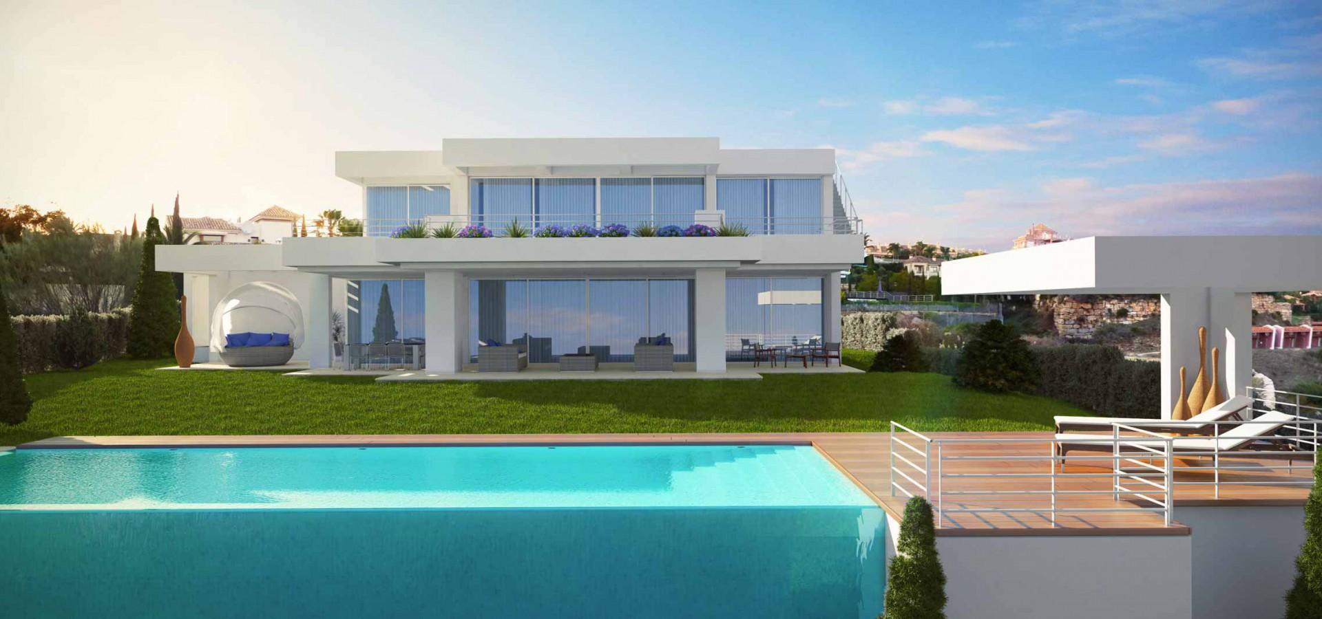 Design villa te koop in los flamingos benahavis spanje specials - Moderne wasruimte ...