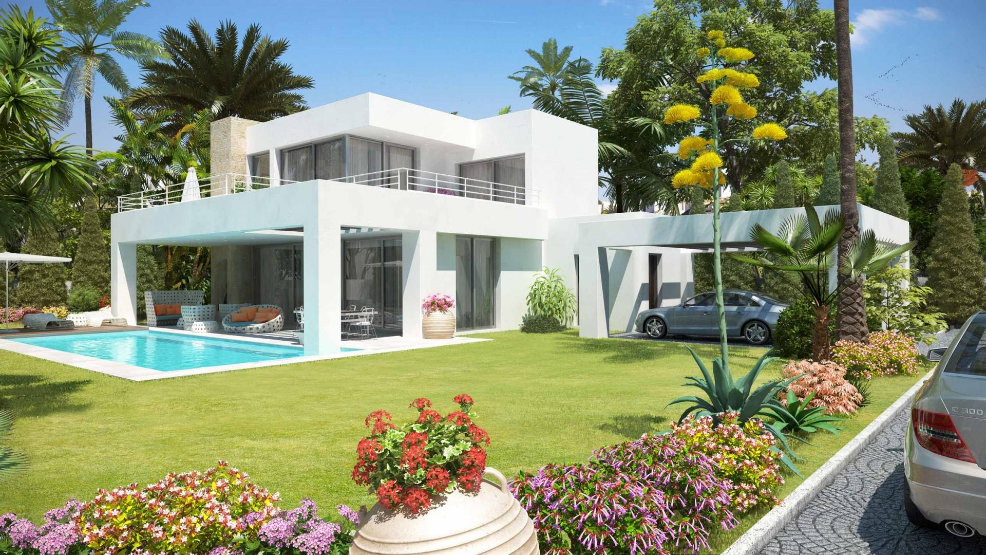 Moderne villa te koop new golden mile in estepona spanje specials - Moderne wasruimte ...
