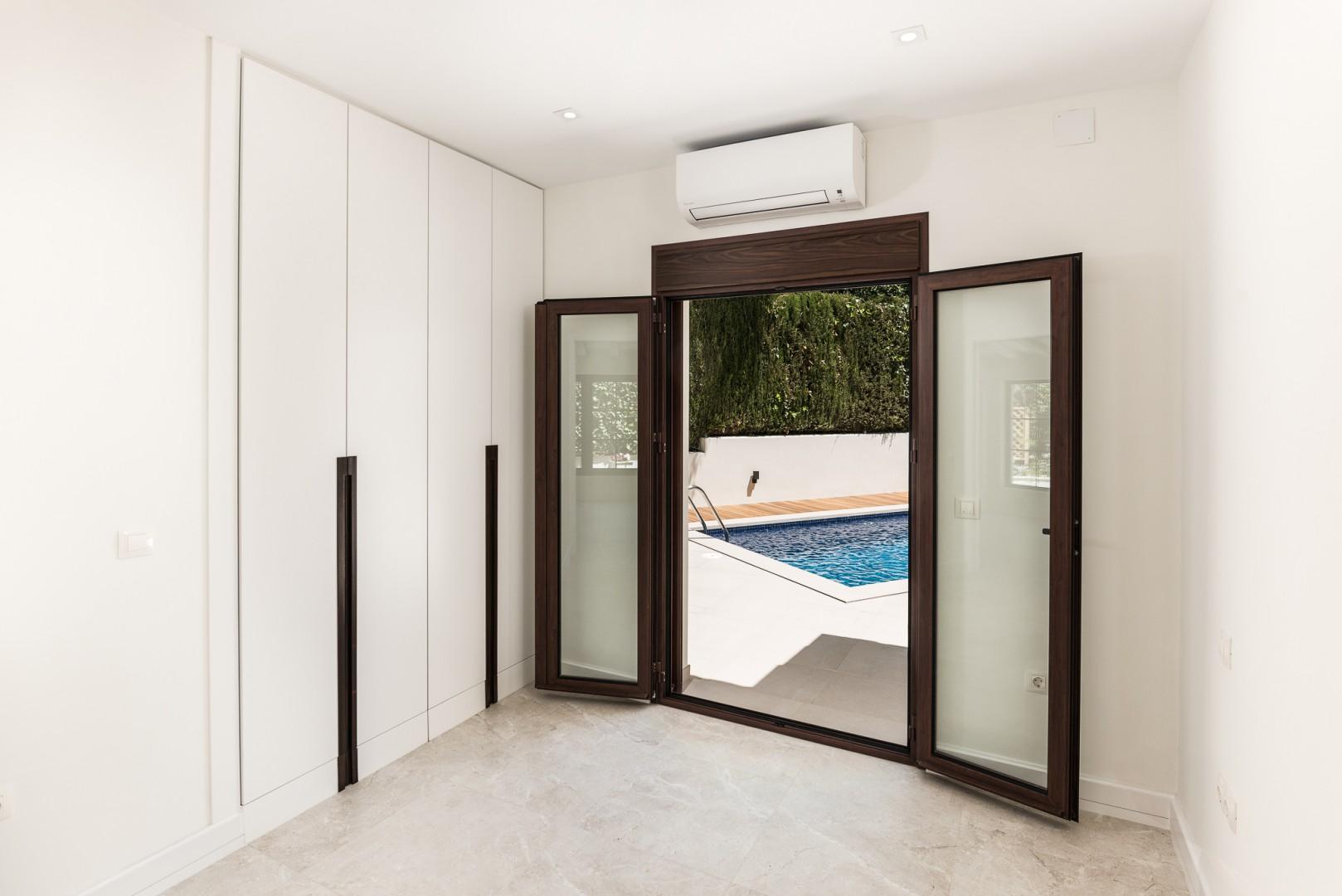 Nieuwe eigentijdse stijl villa in nagueles marbella spanje specials - Eigentijdse stijl slaapkamer ...