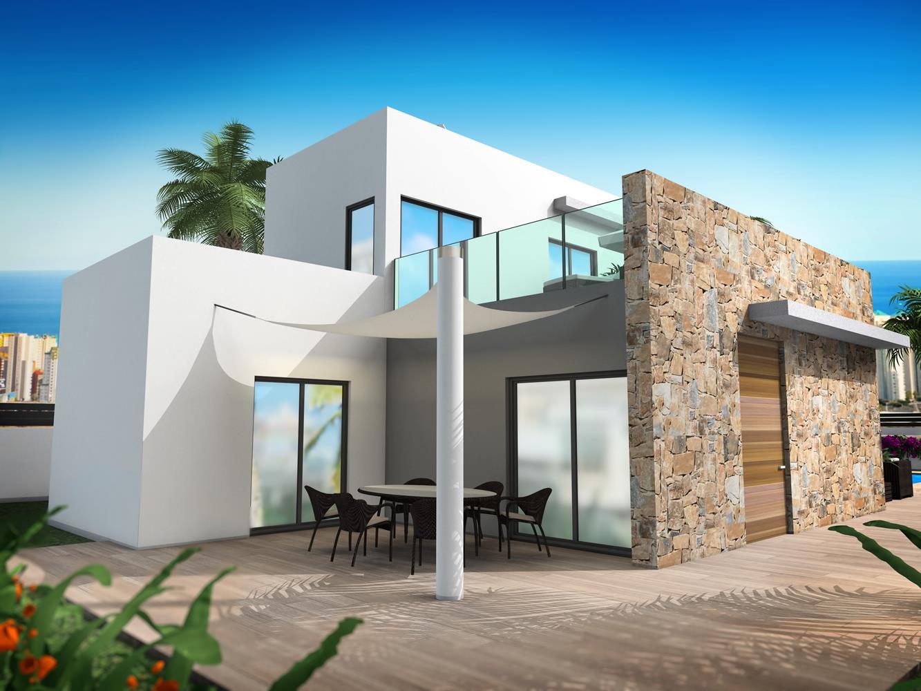 Nieuwbouw villa 39 s finestrat hills spanje specials - Fotos chalets modernos ...