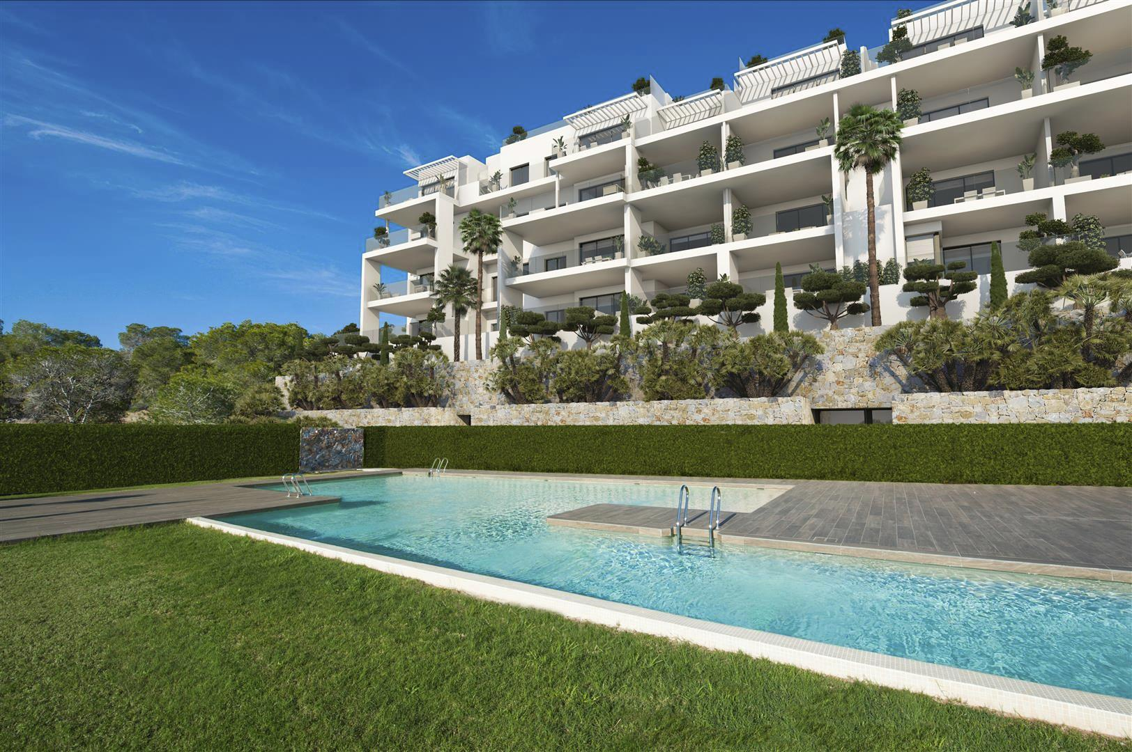 Exclusieve appartementen op luxe golfdomein Costa Blanca