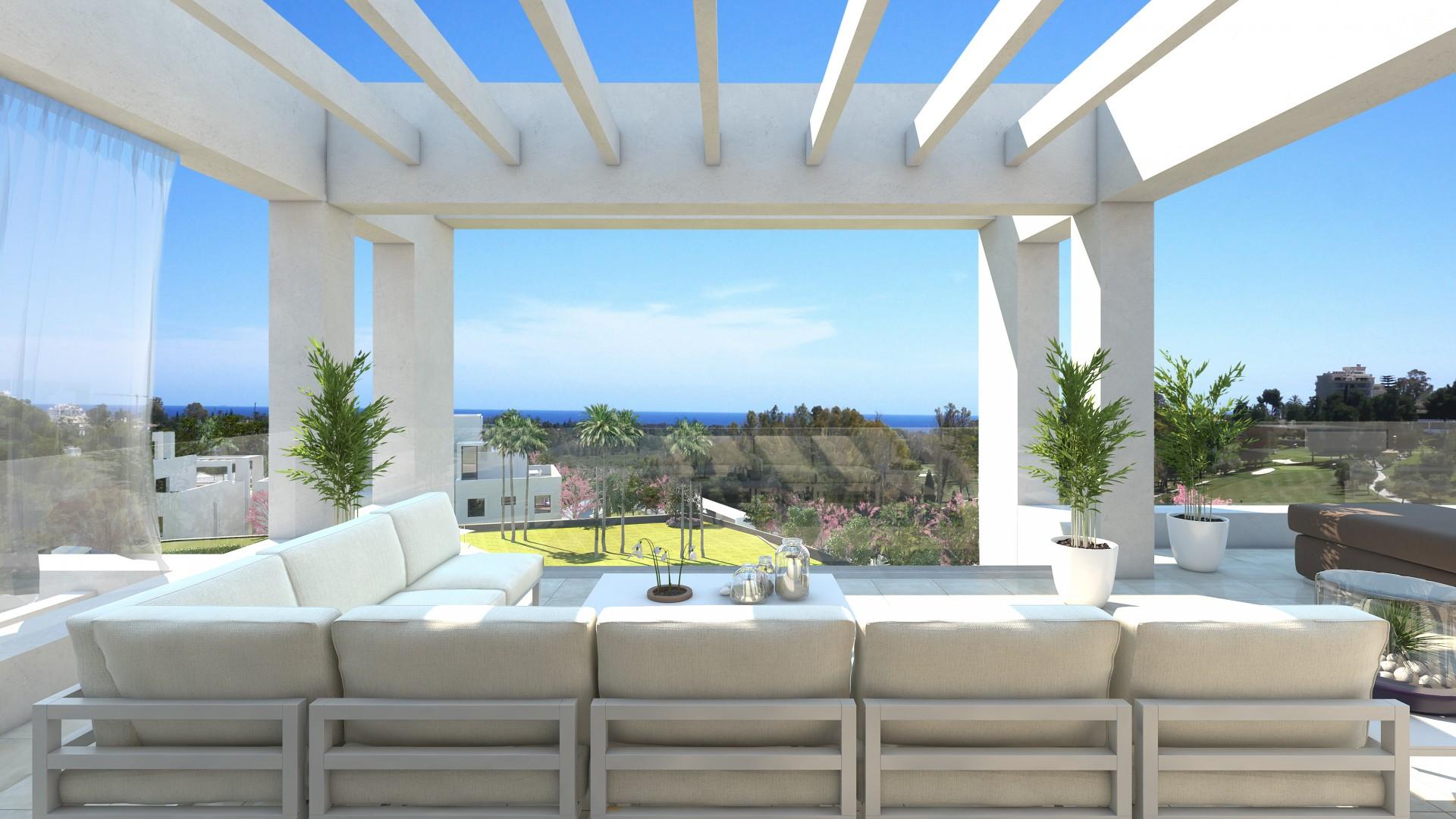 Moderne nieuwe appartementen Estepona