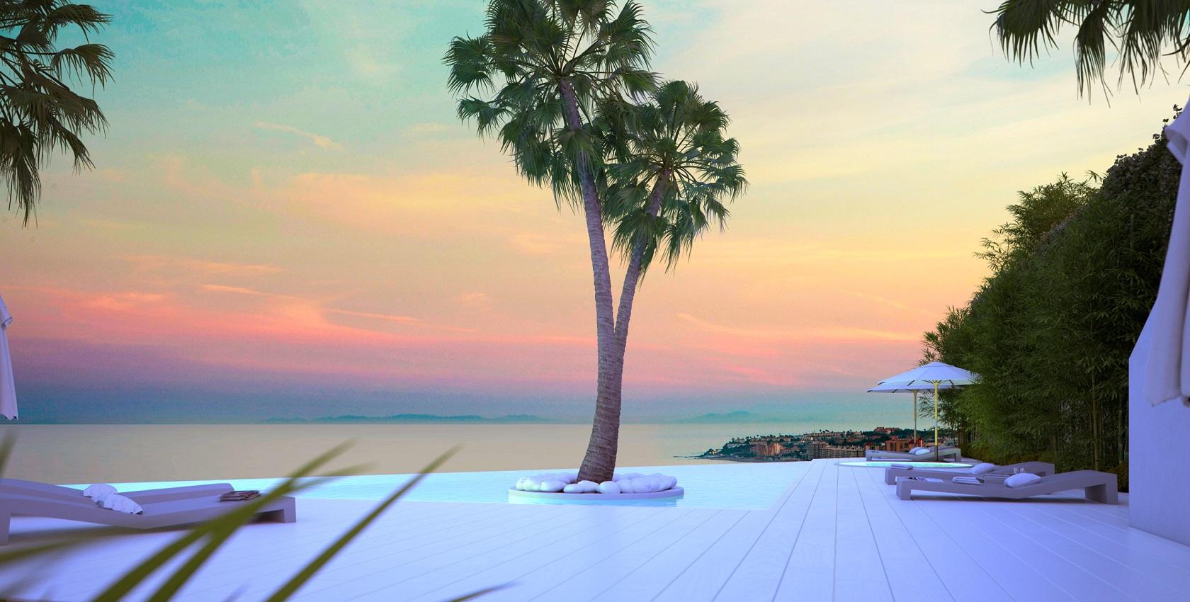 Moderne appartementen op 500 meter van strand Benamaldena