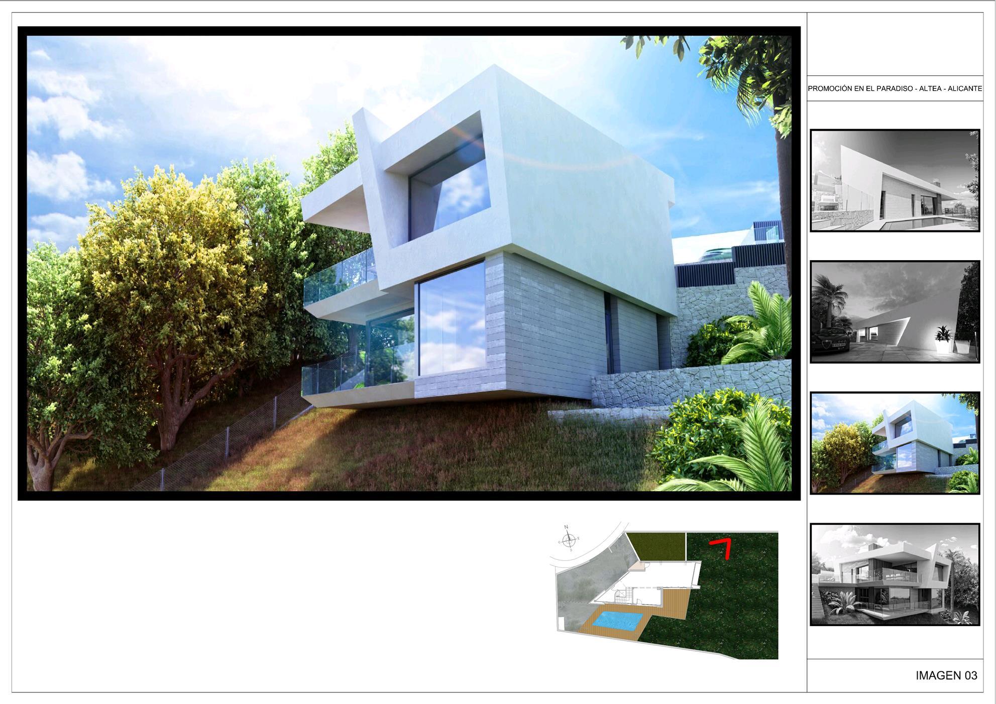 Nieuwbouw moderne villa in altea spanje specials for Moderne kleedkamer