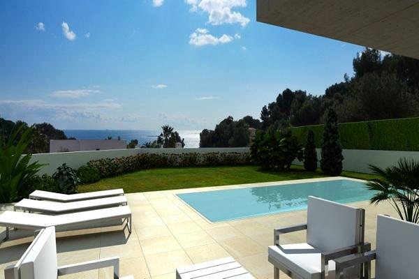 Moderne villa op 500 meter van zee te benissa spanje specials - Moderne wasruimte ...