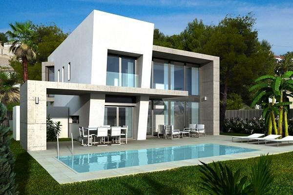 Moderne villa op 500 meter van zee te benissa spanje specials for Modern huis binnenhuisarchitectuur villas
