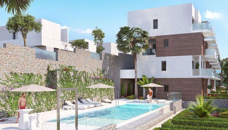 Moderne appartementen op zeer goede ligging Orihuela Costa