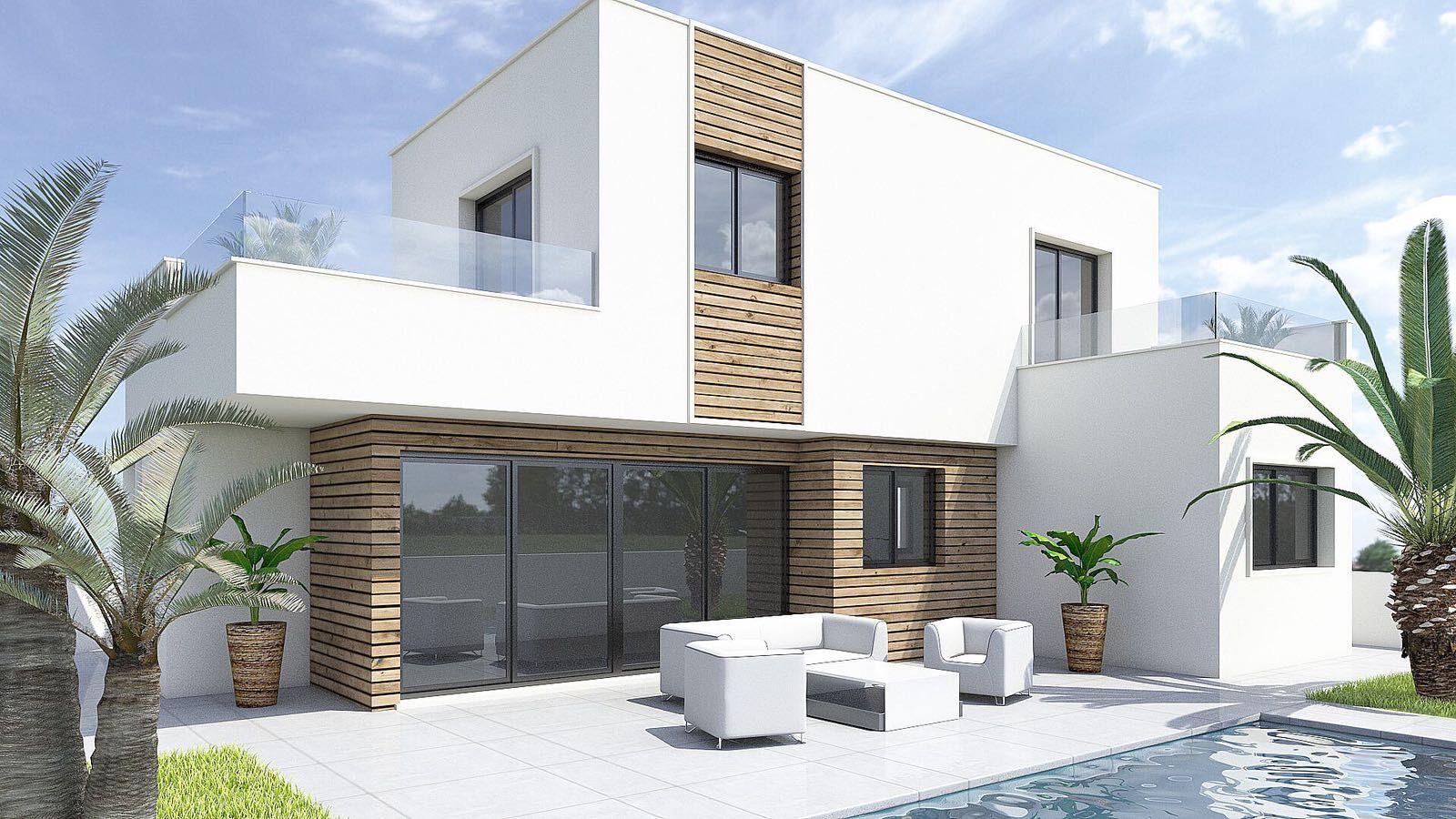 Moderne villa's op 700 meter van de stranden Lo Pagan