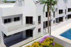 Nieuwe duplex bungalows strand Torrevieja
