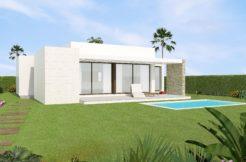 moderne bungalows golfterrein Orihuela Costa
