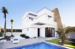 Half- vrijstaande villa's Villamartin Orihuela Costa