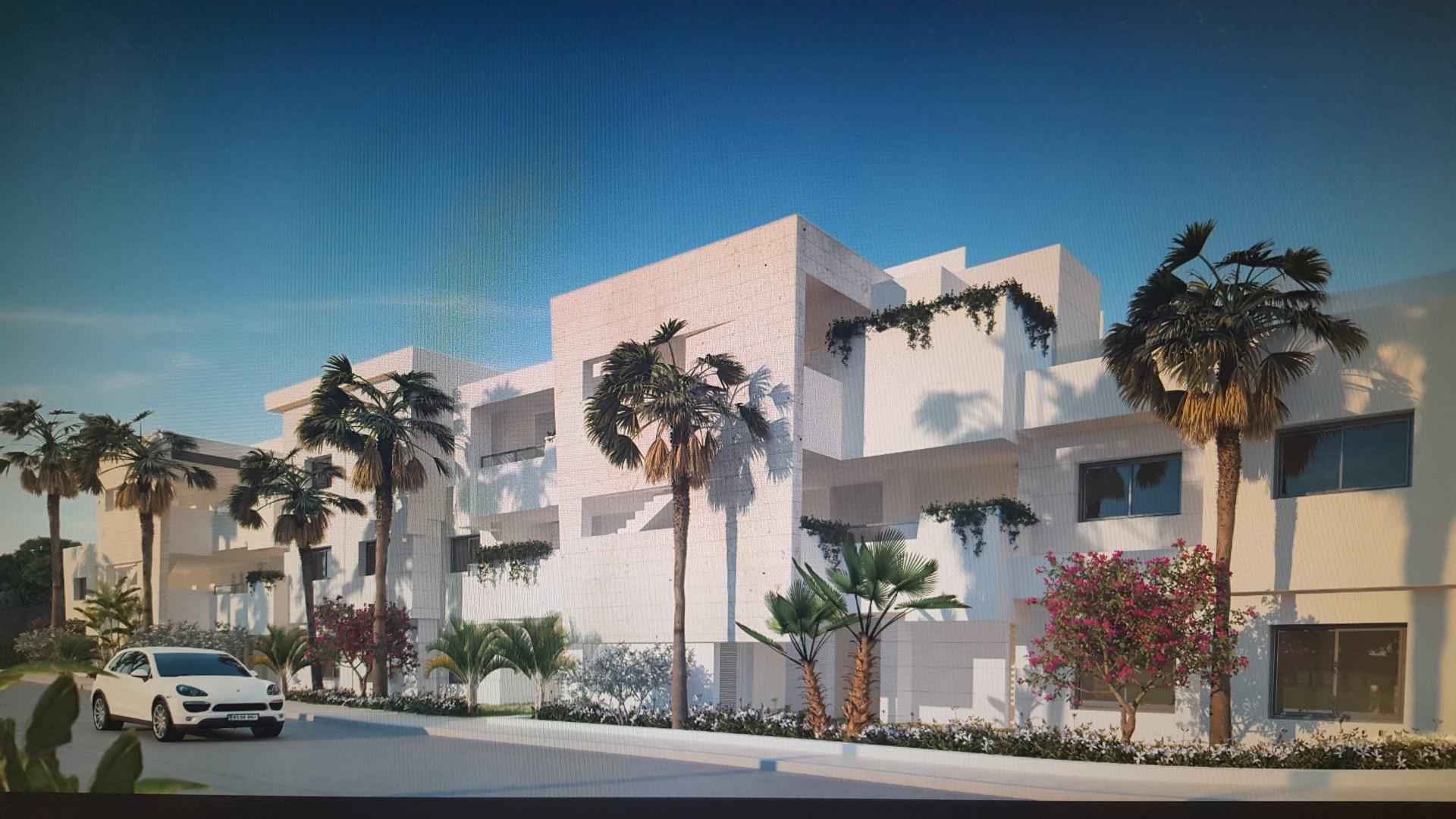 Moderne stijl appartementen eerste lijn golf complex costa del sol