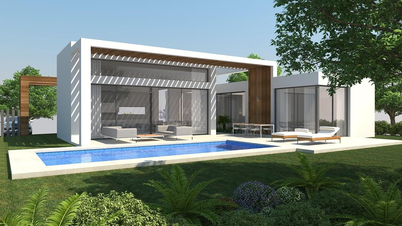 Nieuwe moderne villa 39 s te koop in atalaya estepona spanje specials - Moderne landschapsarchitectuur ...