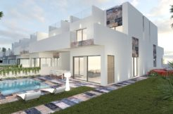 Moderne geschakelde woningen Orihuela Costa