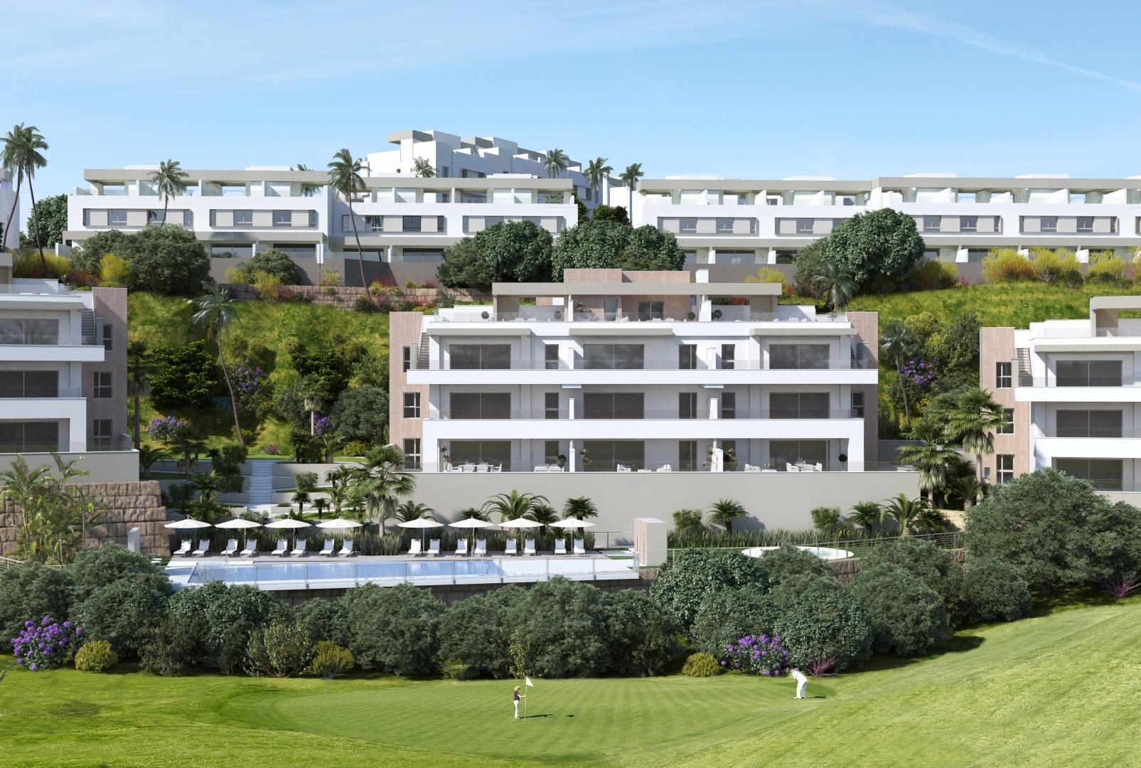 appartementen golfresort Mijas Costa